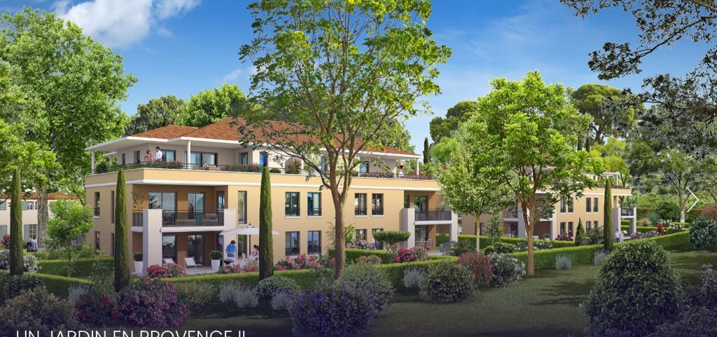 Très beau  Rez de Jardin Aix  3 pièce(s) 69 m2 PUYRICARD