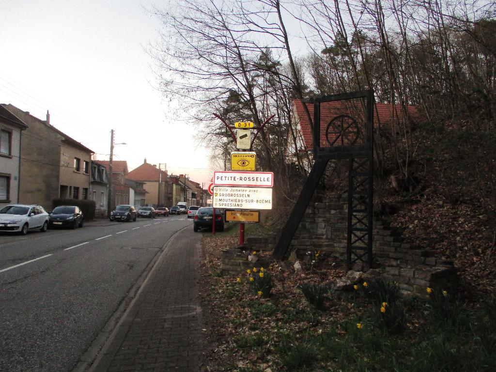 Terrain 1000 m² à vendre à PETITE-ROSSELLE