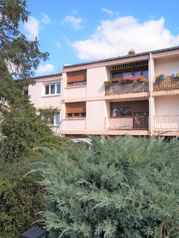 Appartement 4 pièces avec 2 loggias, garage, un jardinet à louer à METZ MAGNY
