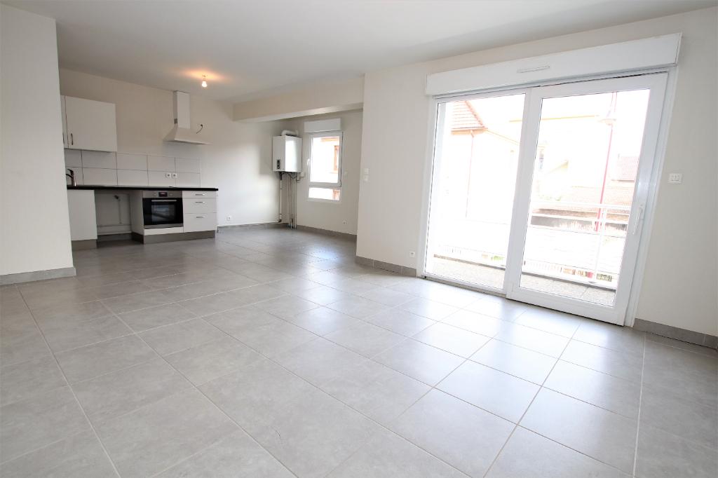 Appartement 2 pièces 57 m² loggia avec stationnement à vendre à AMNEVILLE