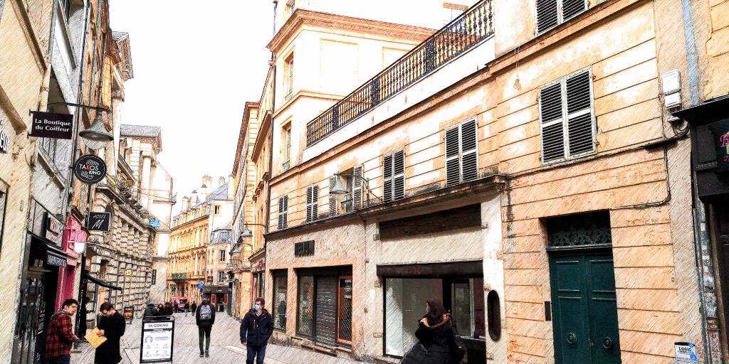 Appartement Metz 3 pièces en duplex de 76 m² utiles avec terrasse et cave METZ HYPER CENTRE