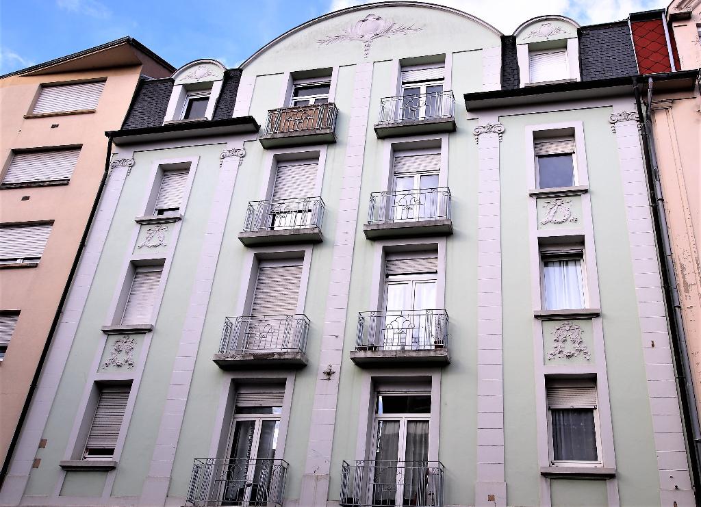 Appartement 2 pièces 47 m² 1 chambre balcons à louer à METZ Sablon