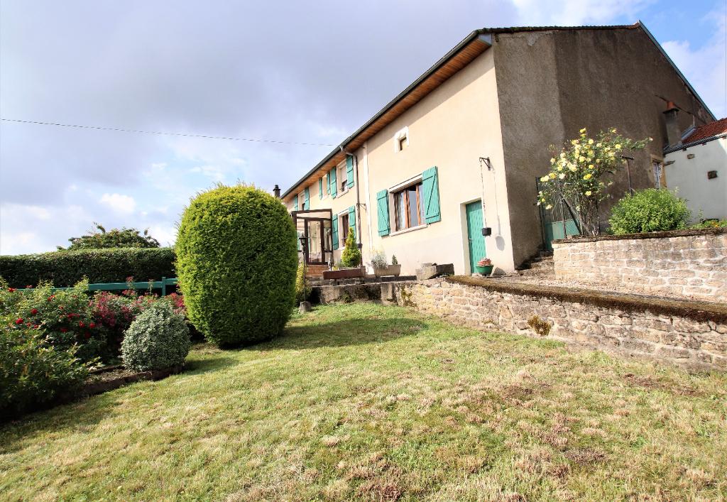 Maison 5p 128 m² garage atelier sur parcelle de 8 ares à vendre à ARRANCY-Sur-Crusne