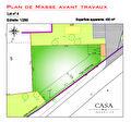 CENTRE VILLE D'ARSAC TERRAIN A BATIR viabilisé de 450 m2
