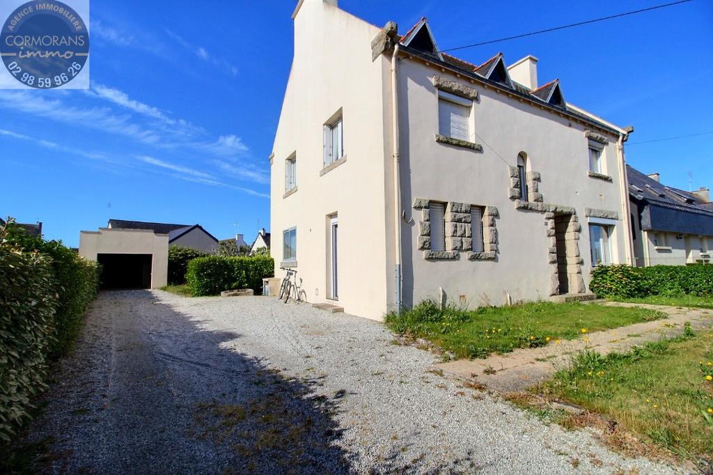 Maison 5 ch + jardin + garage dans quartier calme du Guilvinec à 600m de la mer