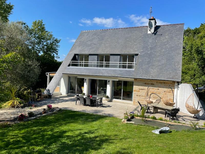 Maison Plonéour Lanvern, 7 pièces + grand terrain