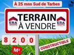 TERRAIN A 20 MINUTES AU SUD DE TARBES