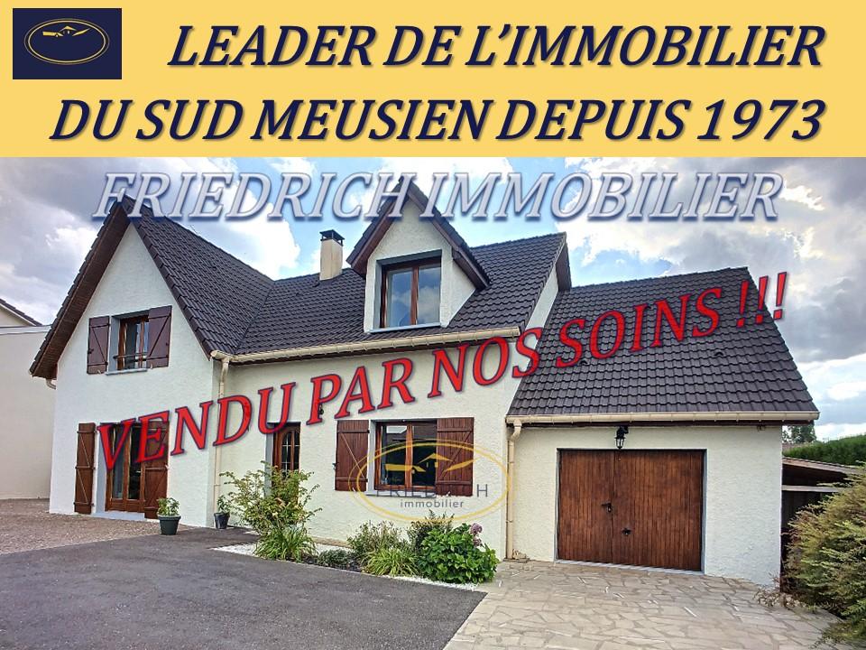 A vendre Maison COMMERCY 315.000 6 piéces
