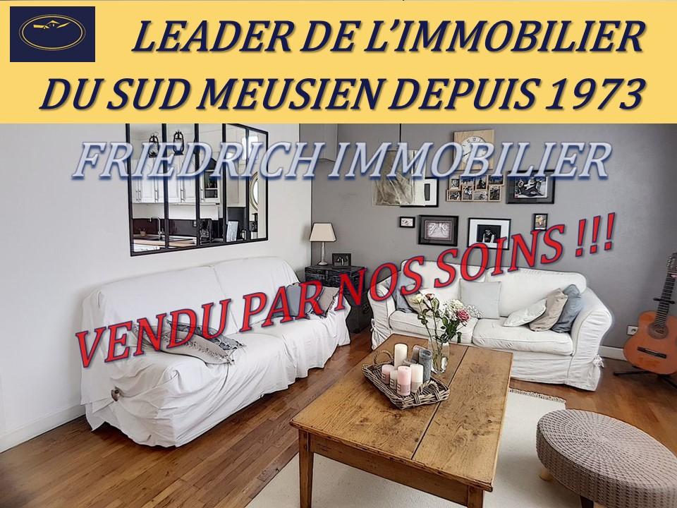 A vendre Maison BAR LE DUC 105m² 148.000 6 piéces