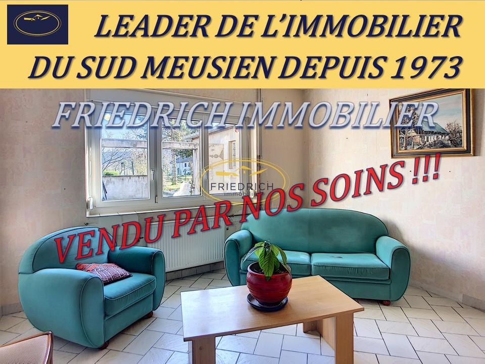 A vendre Maison FRESNES EN WOEVRE 119m²