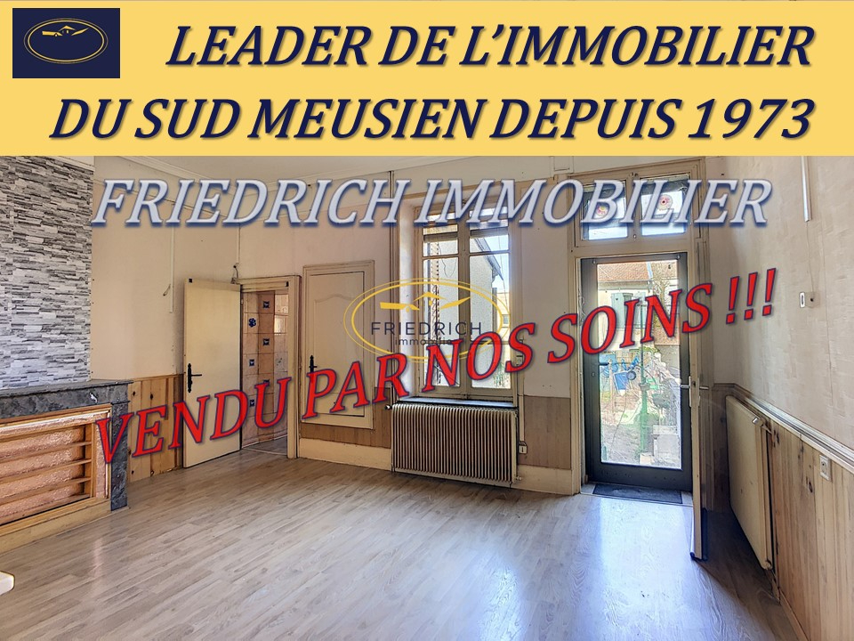 A vendre Maison COMMERCY 94m² 50.000