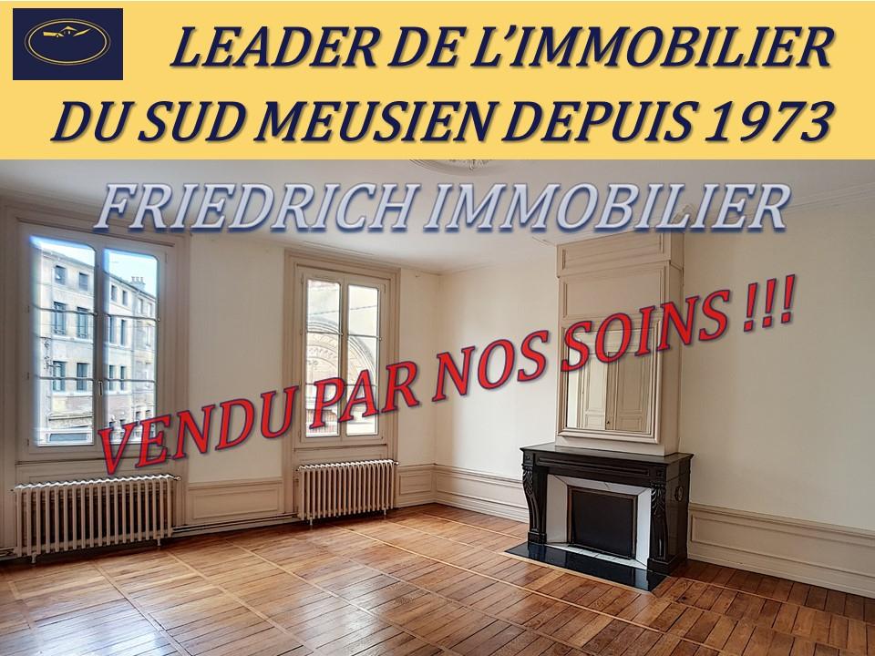 A vendre Appartement BAR LE DUC 138.500 5 piéces