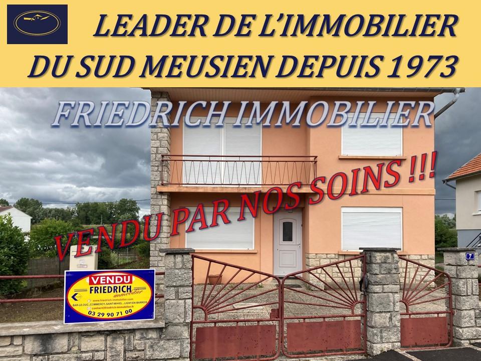 A vendre Maison LEROUVILLE 82m² 115.000