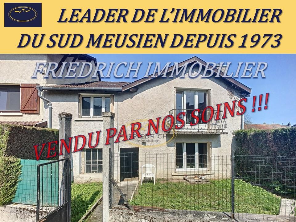 A vendre Maison COMMERCY 87.500 5 piéces
