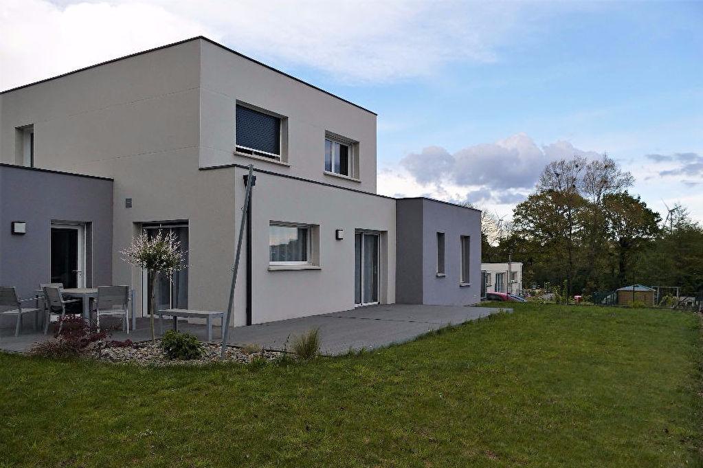 Maison Contemporaine Crevin T5 115 m² - 450 m² de terrain paysagé