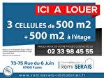 Local commercial Saint Georges Des Groseillers 500 m2